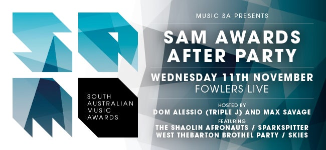Music SA Announces SAM Awards After-Party Lineup!